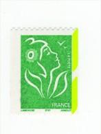 Lamouche TVP Vert De Roulette ITVF YT 3742c Avec Phospho à Cheval . Voir Le Scan . Cote YT : 10 € Maury N° 3724a : 10 € - Variedades: 2000-09 Nuevos