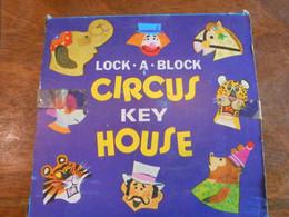Casse Tête LOCK A BLOCK Circus Key House (anglais) Année 50/60 - Rompicapo