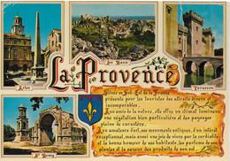 La Provence - Souvenir De Provence Multi Vues - Provence-Alpes-Côte D'Azur