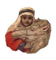 PETIT DECOUPI  ARABE ET SON CHAMEAU - CHAMEAU - Animals