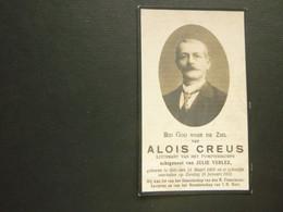 Doodsprentje ( 3894 )  Creus / Verlez  -  Gits  1931 - Avvisi Di Necrologio