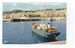 Algerie Alger Vue Générale Port Bateau Paquebot  CPSM PF - Algiers