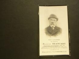 Doodsprentje ( 3900 )  Brancart / Vanderhulst , Burgemeester Van Boortmeerbeek  1917 - Avvisi Di Necrologio