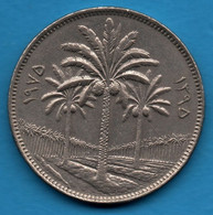 IRAK 100 Fils 1395 (1975) KM# 129 Three Palm Trees - Iraq