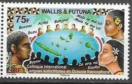 WALLIS ET FUTUNA, 2020, MNH, LANGUAGES, AUTOCHONOUS LANGUAGES OF FRANCOPHONE OCEANIA, 1v - Andere