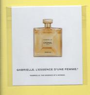 CHANEL * GABRIELLE  STICKER DIFFERENT * - Modern (vanaf 1961)