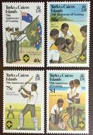 Turks & Caicos 1982 Scouts MNH - Turcas Y Caicos