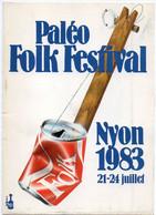 NYON - 21-24 Juillet 1983 - Paléo Folk Festival  - Flamme De Monaco (119867) - Ohne Zuordnung