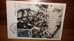 Fdc Carte Verdun 1er Jour 1956 - 1950-1959