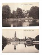 51 - Lot De 2 Cartes Postales Anciennes De GUEUX ( Marne )   -. Voir La Liste Ci-dessous - Andere Gemeenten