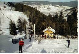 88 GERARDMER Téléski De La MAUSELAINE En 1971 Les Vosges Sous La Neige Skieurs VOIR DOS - Gerardmer