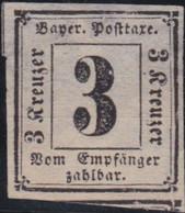 Bayern   .   Michel   .   Porto  1  (2 Scans)   .      (*)      .  Kein Gummi    .    /     .   No Gum - Bavaria