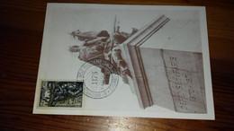 Fdc Carte 1er Jour Verdun 1956 - 1950-1959