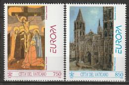 VATICAN - N°959/60 ** (1993) Europa - Unused Stamps