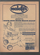 (nautisme) Paris  10e :av Cl-Vellefaux : Matelas  MALATEX ( PPP26080) - Advertising