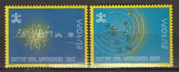 VATICAN - N°984/5 ** (1994) Europa - Unused Stamps