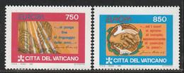 VATICAN - N°998/9 ** (1995) Europa - Unused Stamps