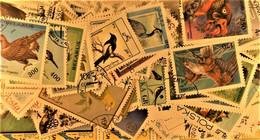 Pochette Hermétique De 500 Timbres Tous Différents - Oiseaux - Colecciones & Series