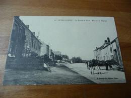 08 - Messincourt Rue De La Poste  Vue Sur La Belgique - Sonstige Gemeinden