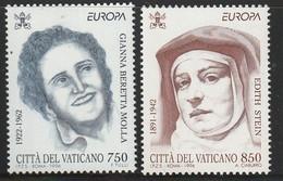 VATICAN - N°1036/7 ** (1996) Europa - Unused Stamps