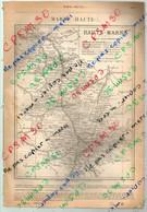 ANNUAIRE - 52 - Département Haute Marne - Année 1888 - édition Didot-Bottin - 21 Pages - Telefoonboeken
