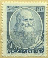 1952 Poland 500th Anniversary Of The Birth Of Leonardo Da Vinci MNH** - Unused Stamps