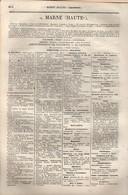 ANNUAIRE - 52 - Département Haute Marne - Année 1879 - édition Didot-Bottin - 13 Pages - Telefoonboeken