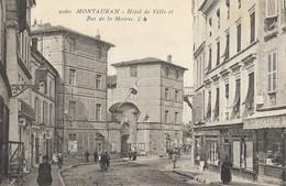 MONTAUBAN - Hôtel-de-Ville Et Rue De La Mairie - Montauban