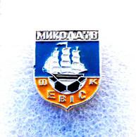 Football/soccer/pin- Quality, Rare, Old -   EVIS  Nikolaev  - UKRAINE. - Calcio