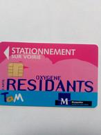 FRANCE PUCE STATIONNEMENT PARKING MONTPELLIER - PIAF Parking Cards