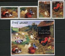 Iraq 2016, Farm Pets, MNH S/S And Stamps Set - Iraq