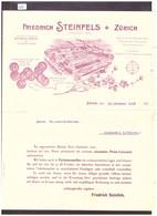 ZÜRICH - PRIX COURANT FRIEDRICH STEINFELS SEIFEN FÜR INDUSTRIE - TB - Suiza