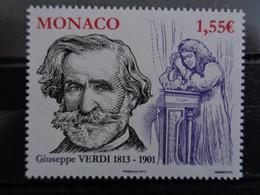 MONACO 2013 Y&T N° 2876 ** - GIUSEPPE VERDI 1813-1901 - Nuevos