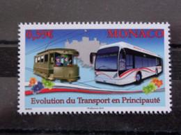 MONACO 2014 Y&T N° 2925 ** - EVOLUTION DU TRANSPORT EN PRINCIPAUTE - Nuevos