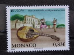 MONACO 2014 Y&T N° 2926 ** - INSTRUMENTS DE MUSIQUE NATIONAUX - Nuevos