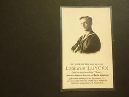 Doodsprentje ( 3916 )   Luyckx / Gyselinck - Onweer In De Haven -  Antwerpen  1931 - Avvisi Di Necrologio
