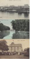 FRANCE - 3 CARTES - PUTEAUX - Vers 1915 - 1 Toilée - Puteaux