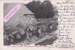 12-ARRIVEE Au BURON- ARRONDISSEMENT D'ESPALION (AVEYRON)-Edit. : E. CARRERE Rodez- (Dos Précurseur)-1905-  (12/11/20) - Zonder Classificatie