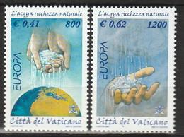 VATICAN - N°1230 A/B ** (2001) Europa - Unused Stamps