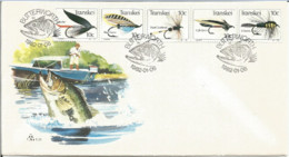 FDC Pêche à La Mouche, Poisson, Saumon, Truite Transkei - Butterworth (Fly Fishing, Fish - South Africa) - Fishes