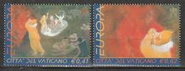 VATICAN - N°1270/1 ** (2002) Europa - Unused Stamps