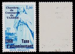 France Grève N° 10 (Tarbes) Neuf ** Signé Calves Superbe Qualité - Cote 100 Euros - Strike Stamps