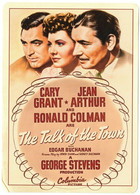 Vintage Cary Grant & Jean Arthur & Ronald Colman In The Talk Of The Town - Acteurs