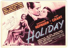 Vintage Cary Grant & Katherine Hepburn  In Holiday - Acteurs