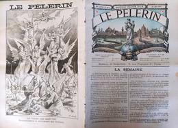 LE PELERIN 1063. 16 MAI 1897. INCENDIE FIRE BAZAR DE LA CHARITE - 1850 - 1899
