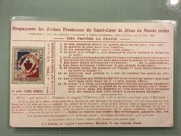 DIEU PROTÈGE LA FRANCE - Propageons Les Divines Promesses De Sacré-Cœur De Jésus - Andere