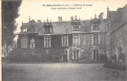 37-SAINT AVERTIN-CHÂTEAU DE CANGE-N°2403-G/0215 - Saint-Avertin
