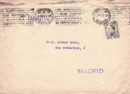 SPAIN - IMPRESOS MADRID 1931  //G41 - Lettres & Documents