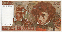 FRANCE  10 FRANCS  1974.T.   P-150 -CIRC-XF++ - 10 F 1972-1978 ''Berlioz''