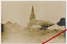 Original Foto - Sauchy-Lestrée - 1917 - Kirche Eglise Church - Arras